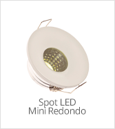 categoria mini spot led redondo